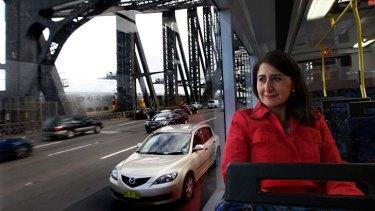 Master strategist ... Transport Minister, Gladys Berejiklian.