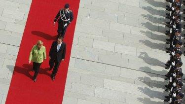 German Chancellor Angela Merkel and British Prime Minister David Cameron.