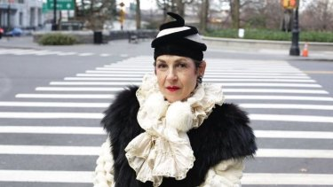 """""""If the outfit is not finished I don't take it out into the world"""": Tziporah Salamon."""