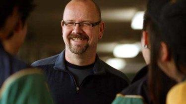 "Roy Hamer, Chaplain at Balwyn High School: ""I see myself as a friend."" <i>Picture: Angela Wylie</i>"
