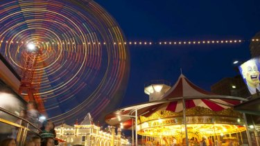 Brilliantly lit … the lights of Luna Park are part of its charm and will cost much less to turn on in future.