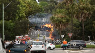 State authorities have laid more than 300 charges against Cootes since a fatal truck crash in Mova Vale last October.