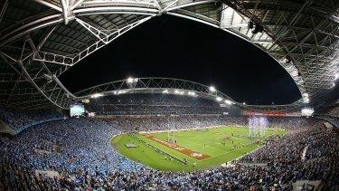 Sydney's biggest sporting venue: ANZ Stadium.