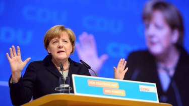 German Chancellor Angela Merkel has attracted deep criticism, even from her own party, for her moral leadership and open-door policy to refugees.