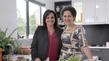 Night in: Annabel Crabb and Jacqui Lambie discuss a range of topics.