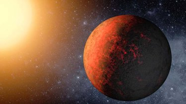Mirror image … a NASA artist's impression of Kepler 20e.