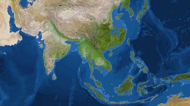 Asia in an ice-free world.