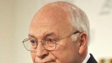 Accused ... Dick Cheney