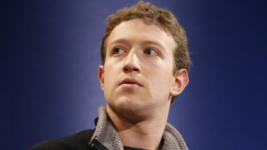 The new establishment ... Mark Zuckerberg.
