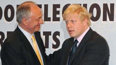 Ken Livingstone and Boris Johnson.