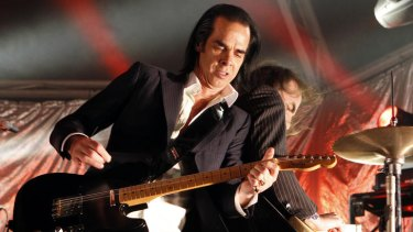 Nick Cave announced it was ''all over'' for Grinderman.