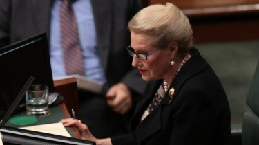 Recent domestic political controversies may have cost Speaker Bronwyn Bishop crucial votes in her bid to go global.