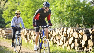 Head first … helmets can minimise injury.
