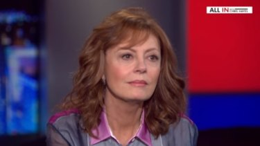 Susan Sarandon discusses Bernie Sanders on 'All In with Chris Hayes' on MSNBC.
