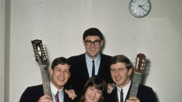 The Seekers in their early years.