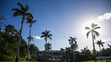 Donald Trump's Mar-A Lago resort in Palm Beach, Florida.