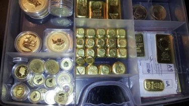 Gold and silver bullion worth $200,000 was stolen from Christopher Lunt's Ellie Court home in Upper Kedron. Photo: Supplied.