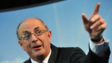 Acting in defiance ... Peter Reith.