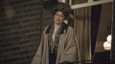 Meryl Streep plays Emmeline Pankhurst, the suffragettes' fugitive leader.