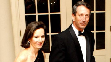 Mark Sanford and his wife, Jenny.