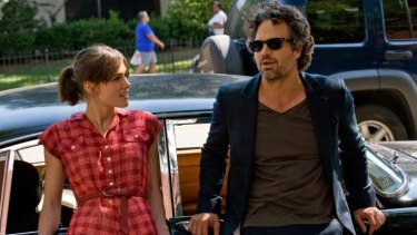 Duet: Keira Knightley and Mark Ruffalo lay it on a bit thick, but overall they make an appealing couple.
