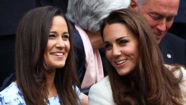 "English roses? According to Karl Lagerfeld, Kate has form while Pippa Middleton ""struggles""."