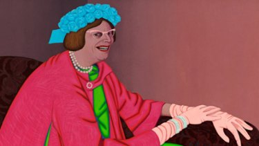 Portrait of a lady... John Brack's 1969 <i>Barry Humphries in the Character of Mrs Everage</i>