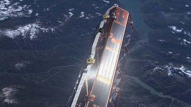 ESA's GOCE satellite.