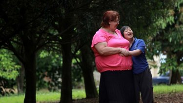 Love to share … Janet Hughes with her adopted daughter Anna, 14. Future adoptive parents will miss out on the $16,000 allowance for carers who adopt foster children.
