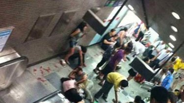 In the first escalator accident in Beijing last week, a 13-year-old boy was killed and over 20 others injured.