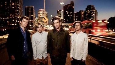 The Rubens … from left, Scott Baldwin and Zaac, Sam and Elliott Margin.