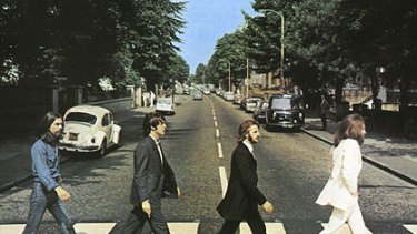 Second most popular ... Australian fans have snapped up <i>Abbey Road.</i>