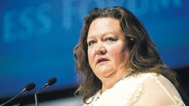 Controversial: Gina Rinehart and the inquest surrounding the death of her father, iron-ore tycoon Lang Hancock, are the subject of a new Nine drama.