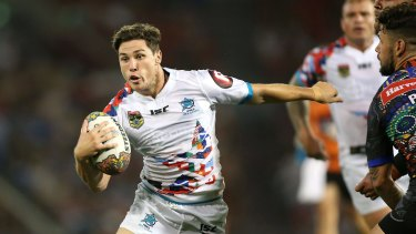 One step ahead: Mitchell Moses kept Martin out of first grade at the Tigers.