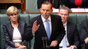 Prime Minister Tony Abbott used Question Time on Thursday to continued his sustained attack on the Commission.