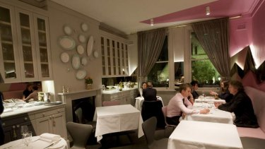 Harmony and grace ... the new dining room at Claude's, where an elegant degustation menu is served.