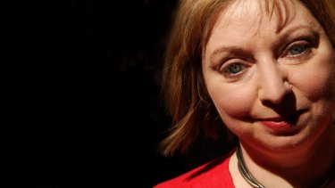 Winner of the Man Booker Prize, 2012, Hilary Mantel.