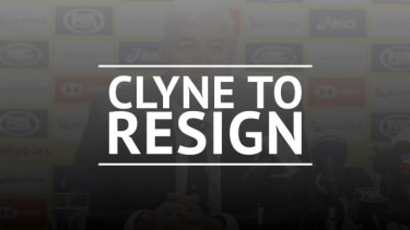 Rugby Australia Chariman Cameron Clyne has announced he will not seek re-election in 2020.