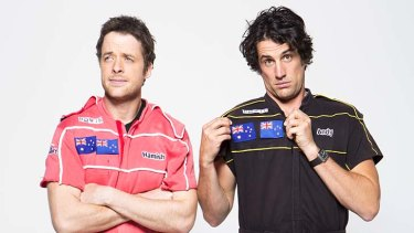 Face off ... Hamish and Andy both up for the Gold Logie.