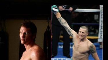 Boxing commentator Paul Briggs, who hasn't been in the ring for three years, is the next opponent for IBO cruiserweight world champion Danny Green (inset).