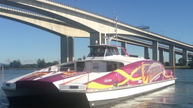 Brisbane City Council has honoured netball superstars the Queensland Firebirds with artwork on the latest addition to its CityCat fleet.