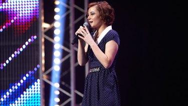 Bella Ferraro, 18, impressed with her performance of <i>Skinny Love</i>.