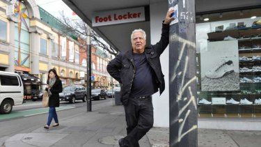 """Third rate ... Chapel Street trader Jim Pothitos: """"Residents come to this area looking for shopping and lifestyle and we're no longer giving them that."""""""