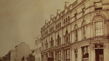 Old Australia: The National Library is unable to establish the identity of two of the buildings in these photographs and hope the public can help. The photo above is of the Old Treasury Building in Spring Street.