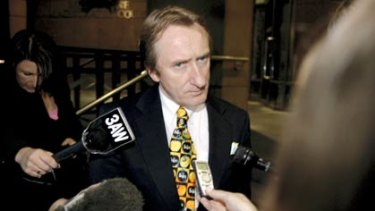 <i>Herald Sun</i> columnist Alan Howe, who said Judge Felicity Hampel 'might be among our worst judges'.