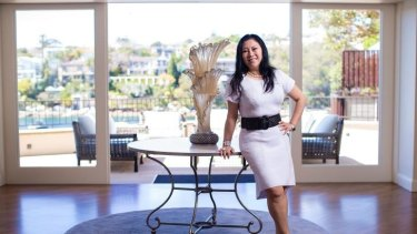 Monika Tu, of Black Diamondz,  uses her Chinese heritage to help find homes for wealthy Chinese buyers in Australia.