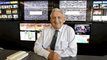 Flick of a switch ... TV veteran Bryan Eagles recalls the early broadcast days.