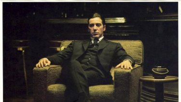 Al Pacino, as Micheal Corleone, in <i>The Godfather: Part II</i>.