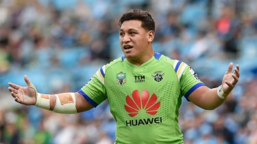 Raiders star Josh Papalii was charged with drink driving last month.
