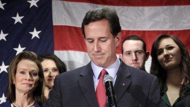End of the road ... Rick Santorum.